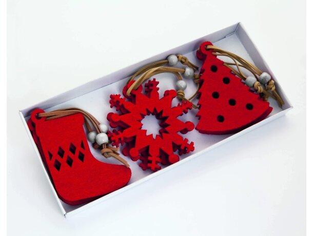 Set de adornos navideños personalizado