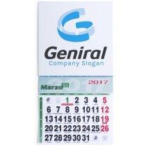 Imán con calendario en pequeño personalizado