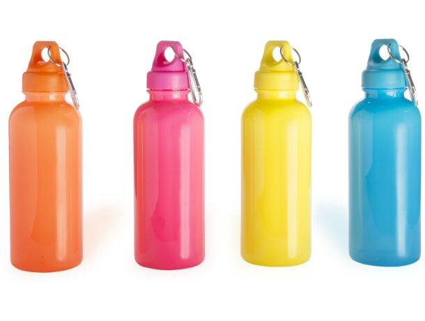 Bidón de plástico de colores llamativos personalizado