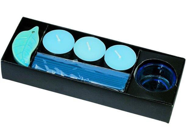 Set de aroma con velas e incienso personalizado