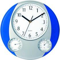 Reloj personalizado de pared con tres esferas