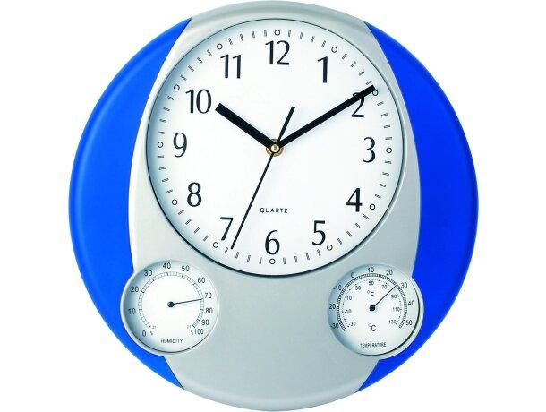 Reloj de pared con tres esferas