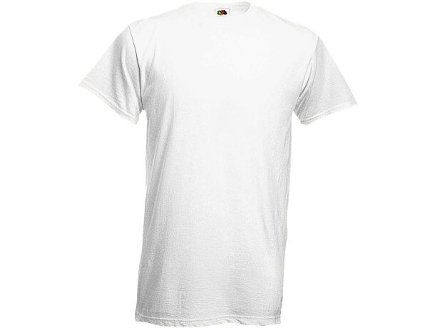 Camiseta blanca 185 gr Fruit of tje Loom original