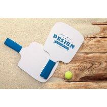 Palas de playa con mango acolchado personalizada