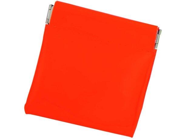 Monedero en colores fluor con sistema clic clac personalizado