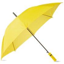 Paraguas con mango de eva mismo color que la tela