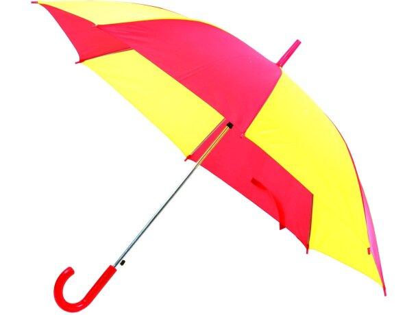 Paraguas combinado con los colores de España personalizado