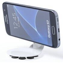 Soporte móvil con ventosa personalizado blanco