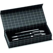 Set elegante de roller y bolígrafo economico