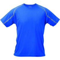 Camiseta manga corta unisex detalles de color 135 gr