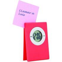 Reloj de sobremesa digital sencillo grabado