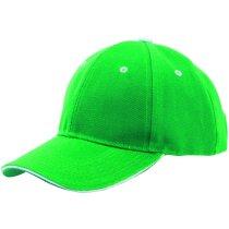 Gorra con detalles de color fabricada en poliester algodón personalizada