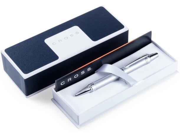 Bolígrafo metálico elegante en caja individual Cross grabado