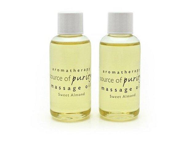 Aceite de masaje dulce de almendras personalizado