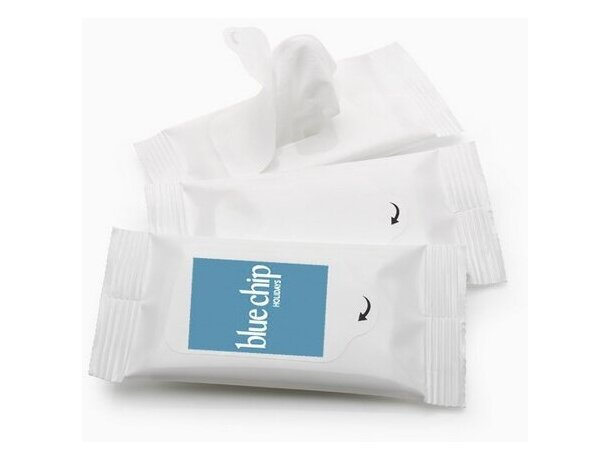 Pack de 5 toallitas húmedas personalizada