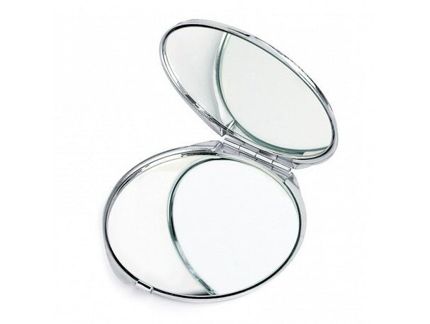 Espejo cromado redondo personalizado