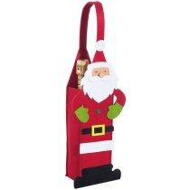 Bolsa de Fieltro Papa Noel
