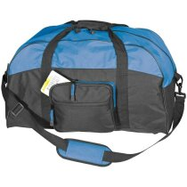Bolsa de viaje o de deporte con logo azul