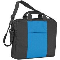 Bolso bandolera de colores combinados personalizado azul