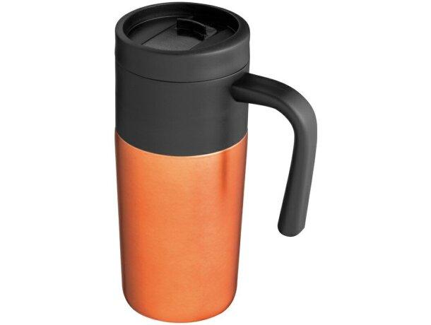 Taza térmica con tapa de colores merchandising