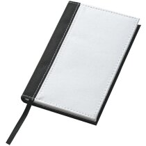 Cuaderno de Notas A6 de Poliester merchandising blanca