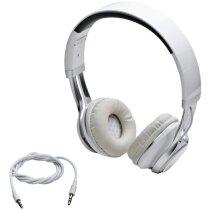 Auriculares clásicos blanco