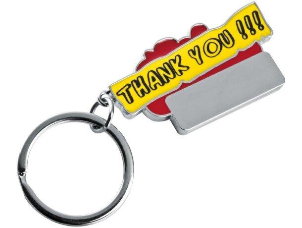 Llavero combinado con la palabra Thank You