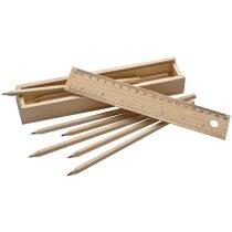 Estuche en madera personalizado marron