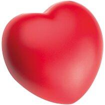 Corazón Antiestrés rojo