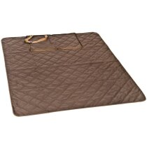 Manta de Picnic impermeable marron