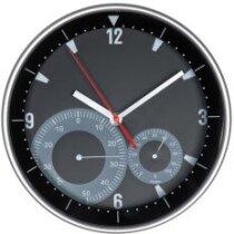Reloj de Pared con Higrómetro Y Termómetro