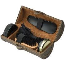 Set Limpia calzado 5 piezas personalizado marron