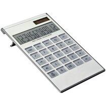 Calculadora de escritorio de 12 dígitos personalizada blanca