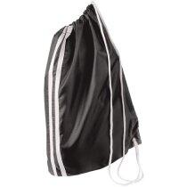 Bolsa saco de deporte con raya decorativa