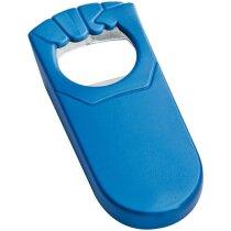 Abrebotellas de plástico en colores personalizado azul