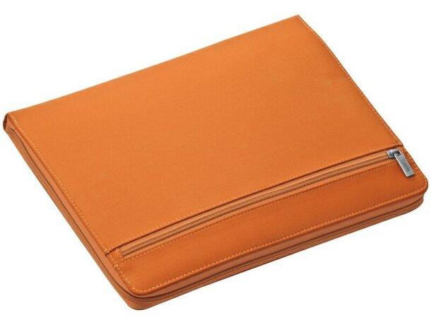 Portafolios diseño moderno de colores vivos personalizado naranja