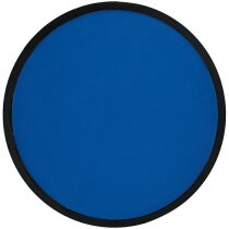 Disco volador plegable de colores azul personalizado