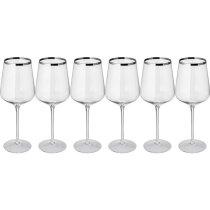 Set 6 Copas de Vino Tinto