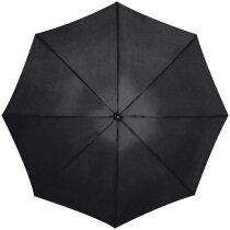 Paraguas de golf con mango recto negro