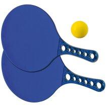 Juego de palas de playa personalizada azul