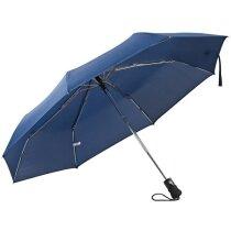 Paraguas de Bolso Automático. personalizado azul