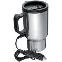 Vaso térmico de acero 330 ml personalizado plata