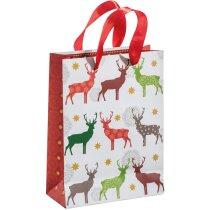 Bolsa navideña de papel