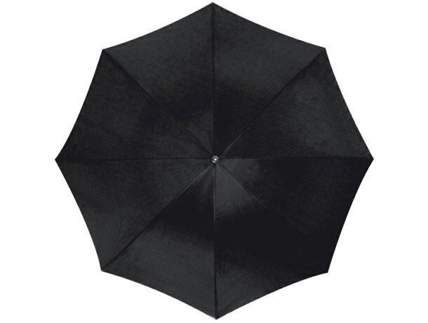 Paraguas automático con mango de plastico personalizado negro