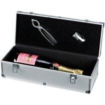 Caja de champagne plata