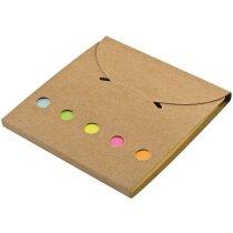 Etiquetas marcadoras adhesivas personalizada marron