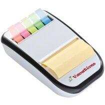 Dispensador de Notas Adhesivas personalizada blanca