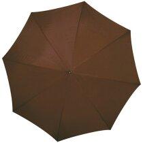 Paraguas colores a elegir y combinados barato marron