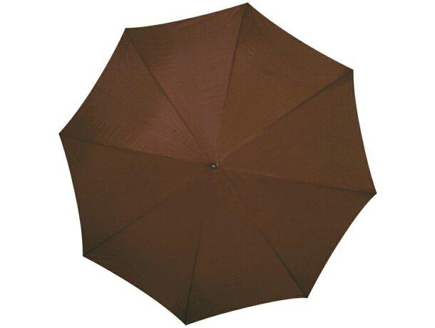 Paraguas colores a elegir y combinados marron barato