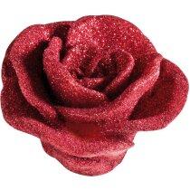 Vela en forma de rosa personalizada